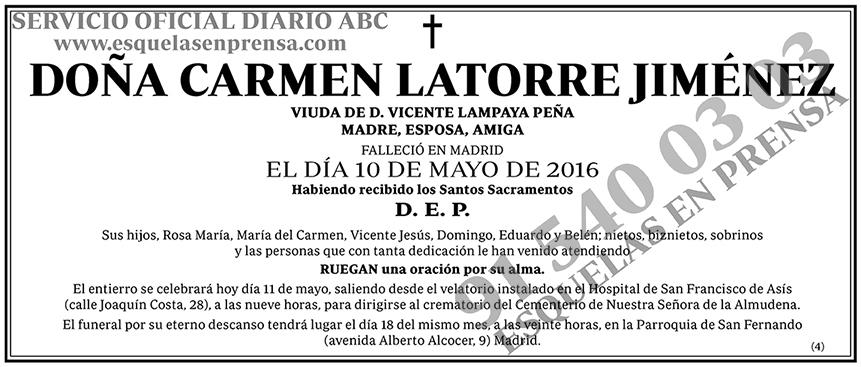 Carmen Latorre Jiménez